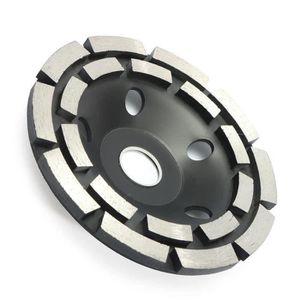 Sepikey Disque de meule de Segment de Diamant de 10 cm 6 Trous pour Pierre /à b/éton en marbre