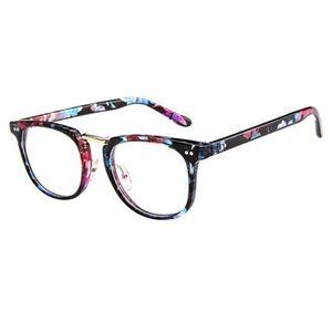 LUNETTES DE VUE Monture de lunettes rétro Ronde Monture verre clai