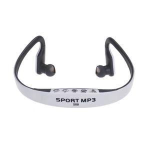 CASQUE - ÉCOUTEURS Carte sans fil Radio FM stéréo MP3 Fonction sport