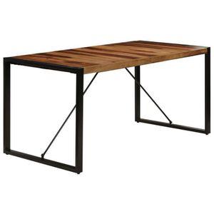 TABLE À MANGER SEULE Table de salle à manger 160x80x75 cm Bois de Sesha