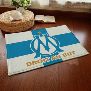 TAPIS Marseille équipe de football Tapis de salon Shaggy