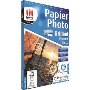 PAPIER PHOTO Papier photo brillant premium A4 - 235g/m²
