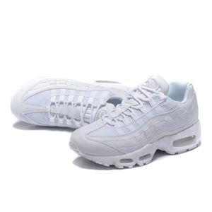 genuine shoes affordable price sleek Baskets Nike Air Max 95 Premium blanches blanc/creme - Achat ...