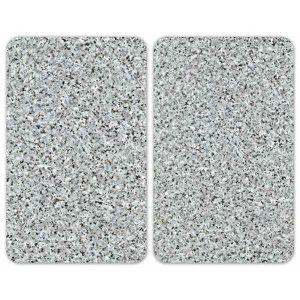 CACHE PLAQUE DE CUISINE 2 Couvre plaques de cuisson universel Granit