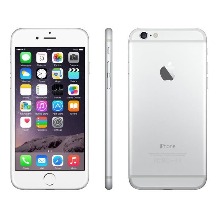 IPHONE 6G 16GB SILVER DÉBLOQUER