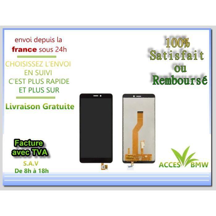 Ecran Lcd Pour Wiko Jerry 3 Noir