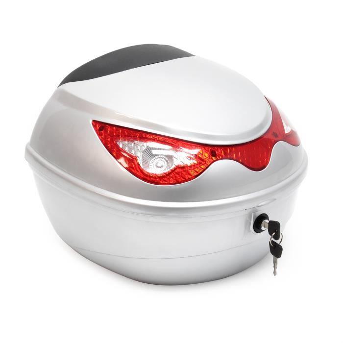 Top Case 22L valise moto argentée valise casque en argent - 62048