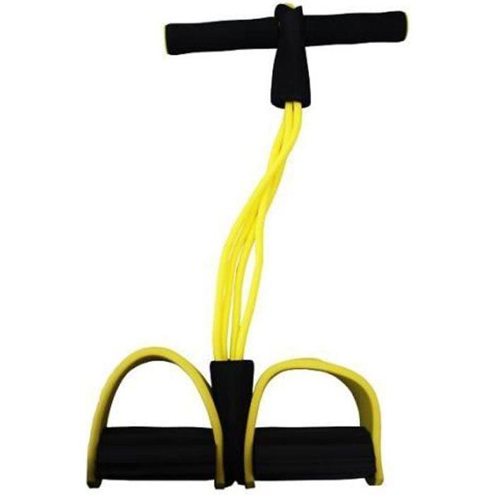 Appareil de gym - Rameur avec élastiqu
