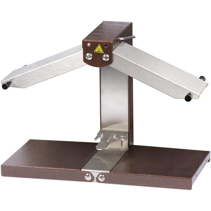 LOUIS TELLIER - Appareil à raclette Brézière® Signature Original - Taille Adaptée pour 1-4 ou 1-6 de Meule - 1 à 4 Personnes -129