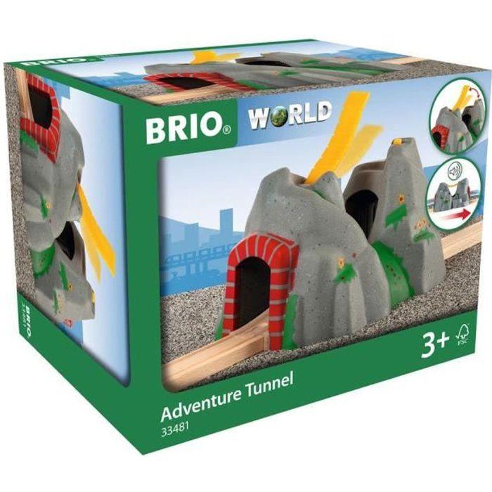BRIO - 33481 - TUNNEL D'AVENTURES