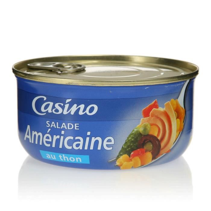 VIF ARGENT Salade américaine thon - 250 g