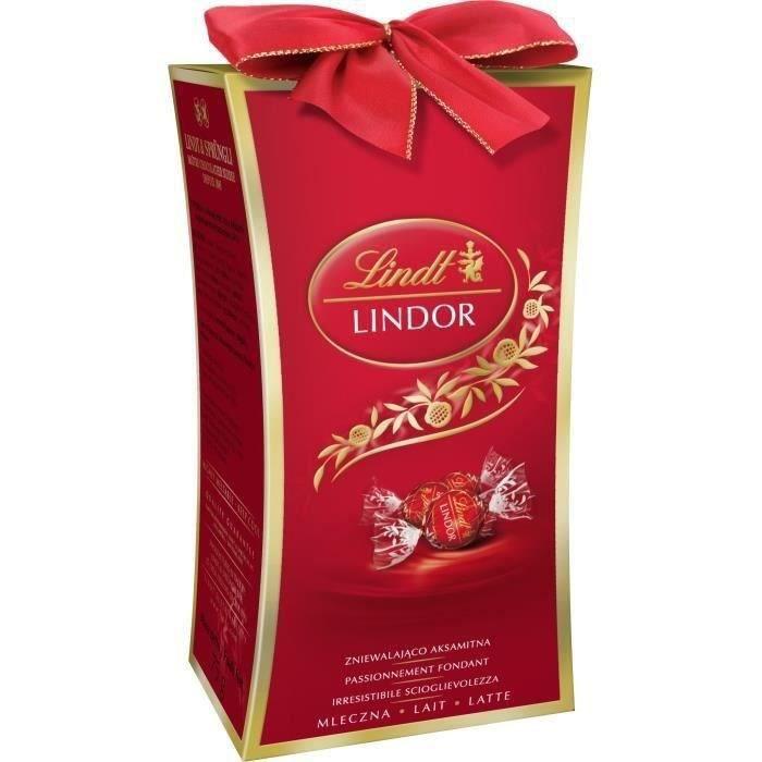 LINDT Mini Cadeau Lait Lindor - 75 g