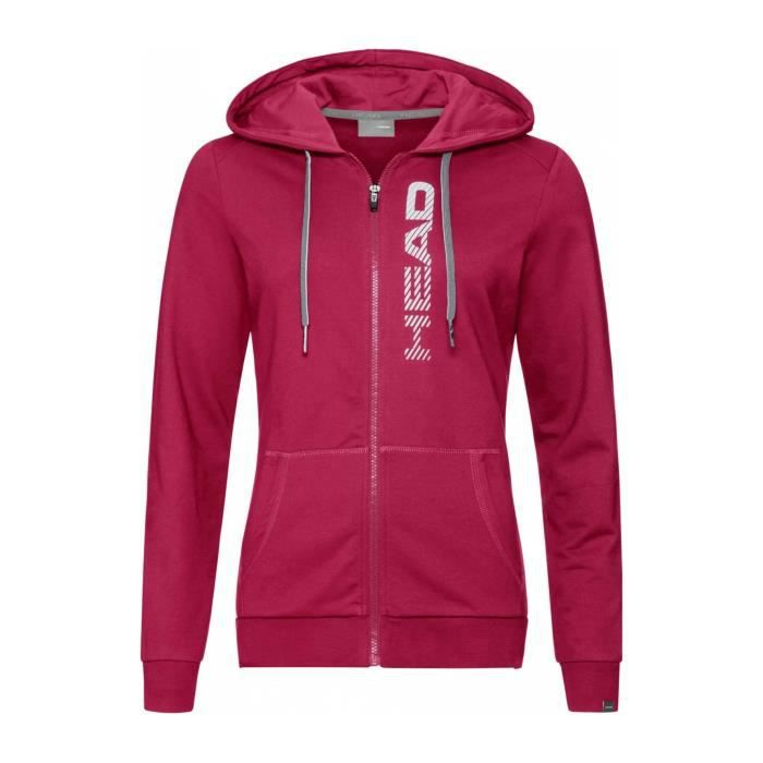 Head Club Greta Femmes Veste tennis rose