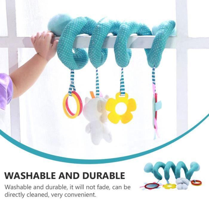 1 pc léger poussette durable suspendu jouet pour spirale - tortillon jouet premier age