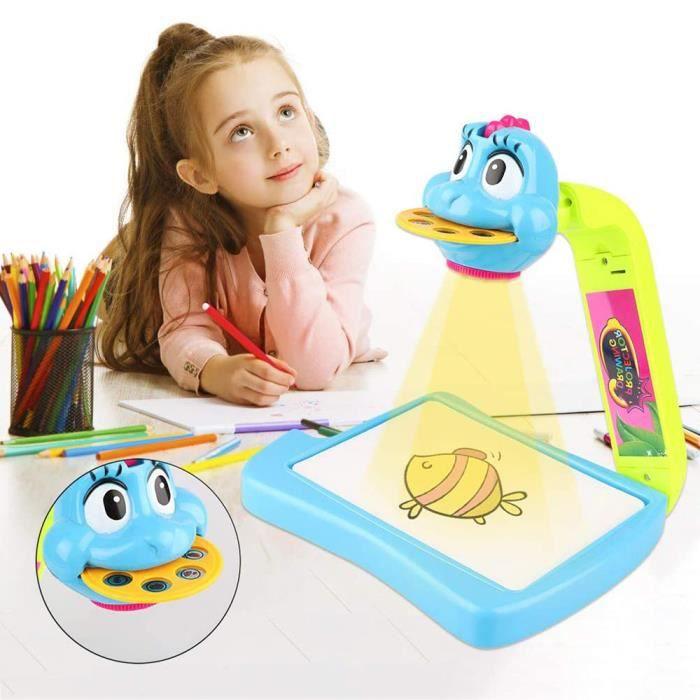 Projecteur Apprentissage et Dessin Ensemble de dessin Bureau de dessin pour enfants Art-bleu
