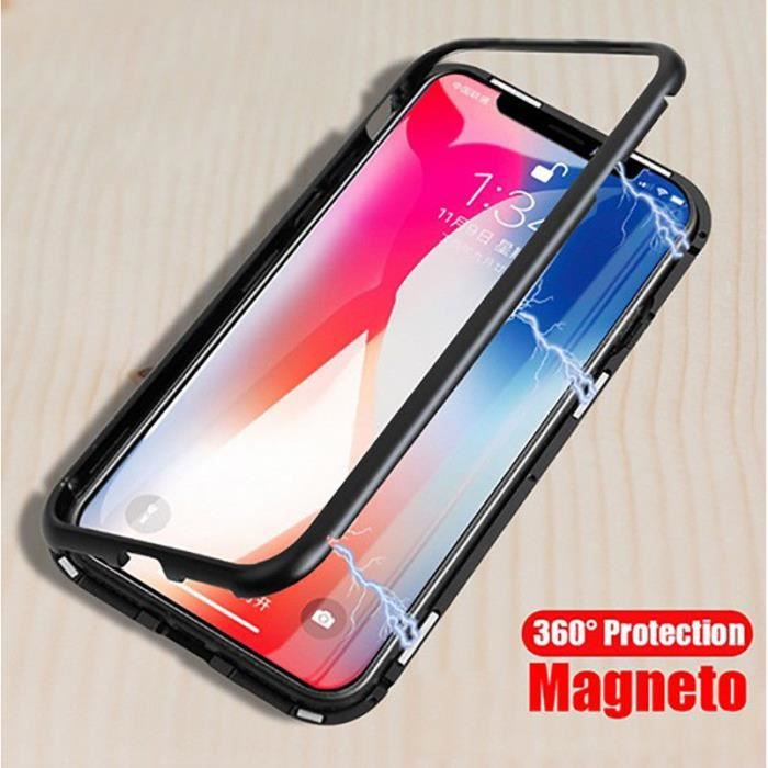 coque magnetic iphone x