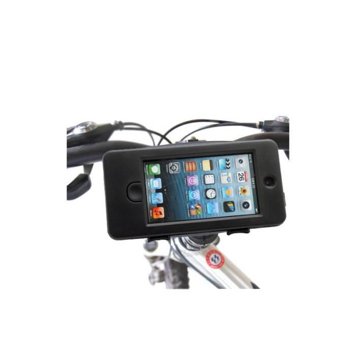Housse etui support v lo tanche anti choc pour iphone 5 for Housse pour velo