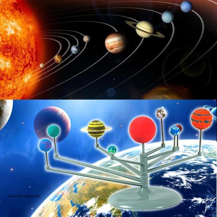 Solaire Système Planetarium Modèle Kit éducatif d/'apprentissage pour enfants