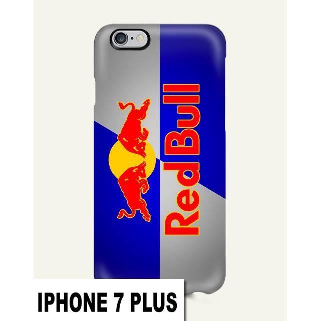 coque iphone 7 plus red bull