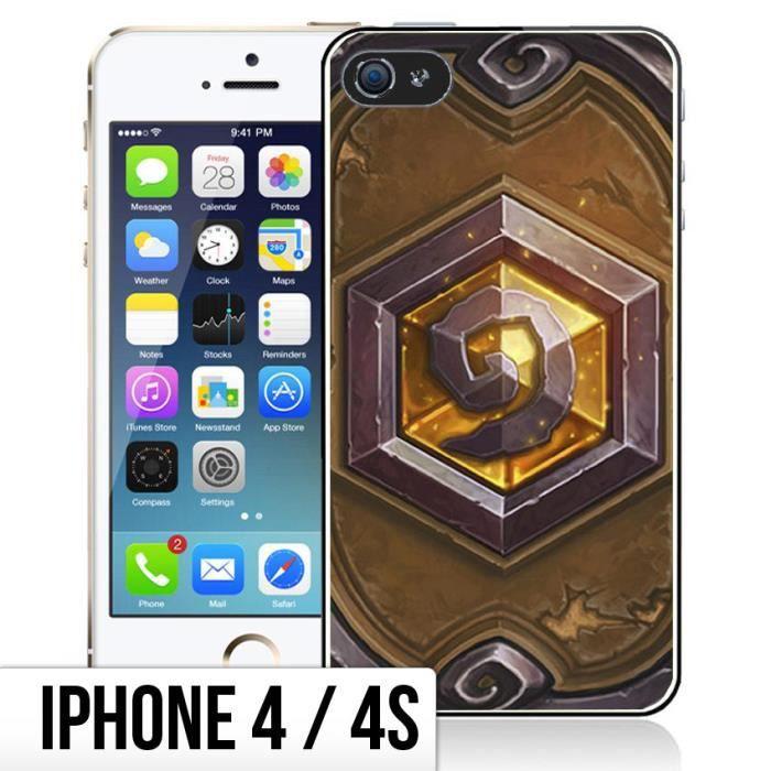 Coque iPhone 4-4S Hearthstone - Carte