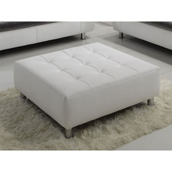 pouf blanc andy achat vente pouf poire pu cdiscount. Black Bedroom Furniture Sets. Home Design Ideas