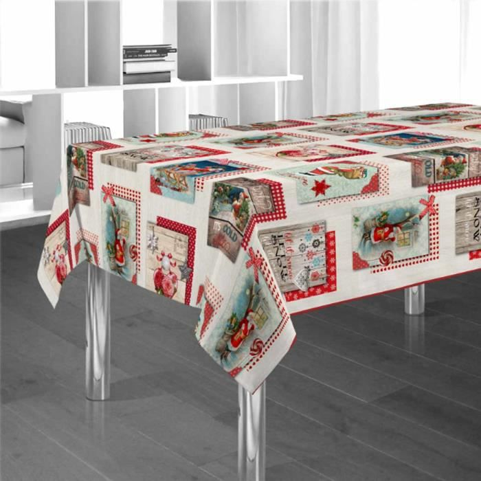 nappe anti tache 3m table de cuisine. Black Bedroom Furniture Sets. Home Design Ideas