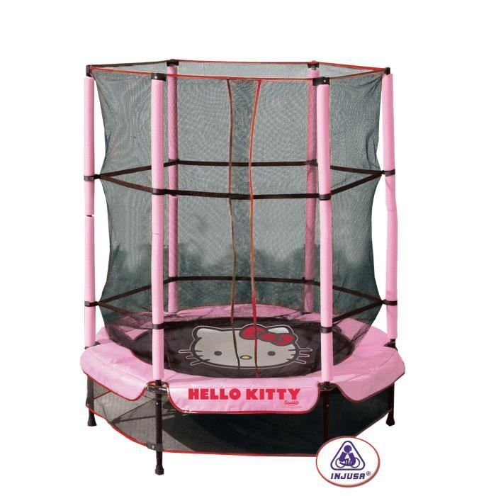 hello kitty trampoline 140 cm achat vente trampoline cdiscount. Black Bedroom Furniture Sets. Home Design Ideas