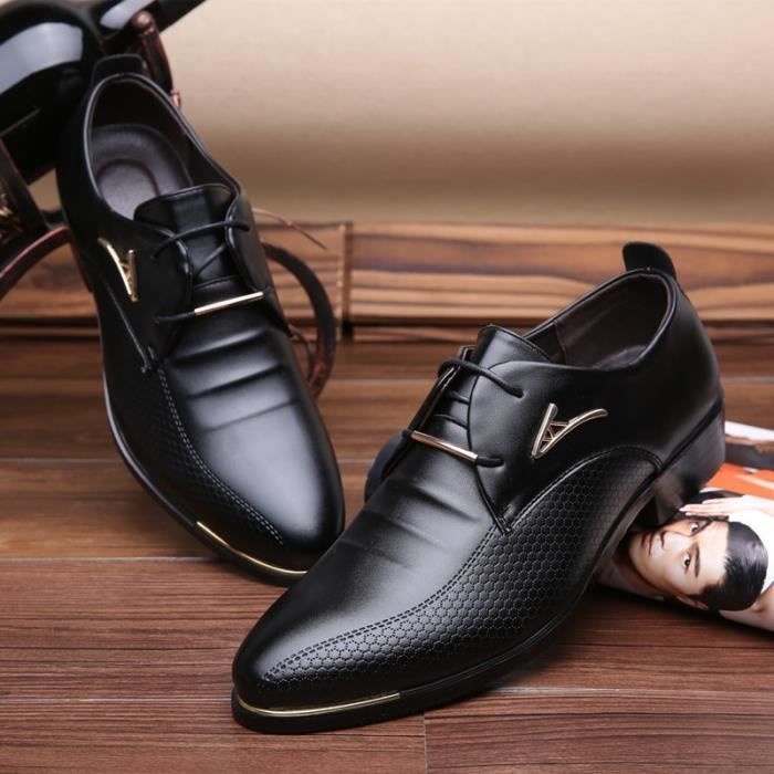 chaussures cuir homme achat vente chaussures cuir. Black Bedroom Furniture Sets. Home Design Ideas
