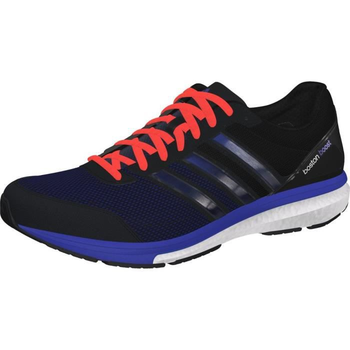 huge selection of 522c9 04643 ADIDAS ADIZERO BOSTON BOOST 5 Chaussures running homme noir