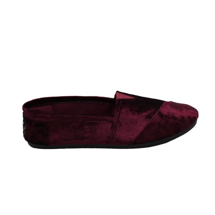 Classic Slip On Mocassins Velvet Shoe Slipper VTDV3 Taille-40