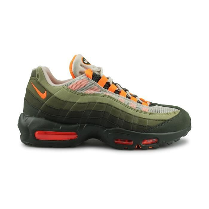 design de qualité cf2fd 055fd Nike Air Max 95 Og Homme Baskets Olive Orange