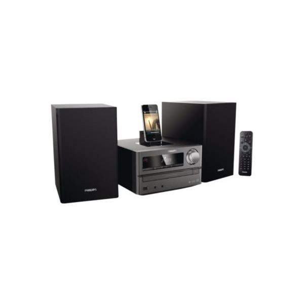 micro cha ne philips dcm2025 chaine hi fi prix pas cher. Black Bedroom Furniture Sets. Home Design Ideas