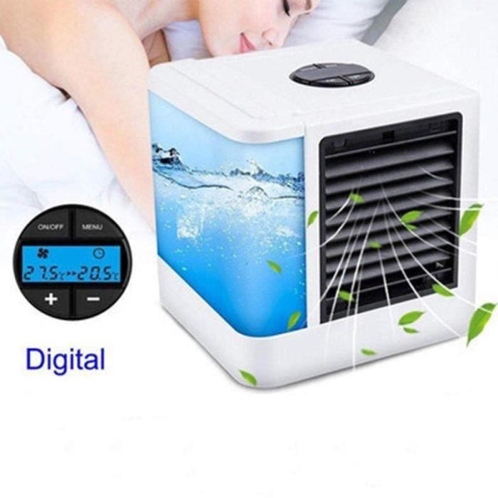 Mini climatisation ventilateur humidificateur ventilateur Rechargeable USB Mist Cooler
