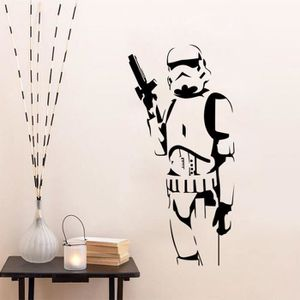 stickers muraux star wars achat vente pas cher. Black Bedroom Furniture Sets. Home Design Ideas