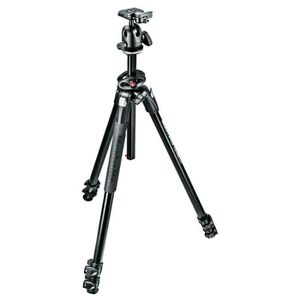 MANFROTTO MK290DUA3-BH Kit Trépied 3 sections Alu + Rotule Ball 496RC2