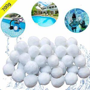 POMPE - FILTRATION  700g Boules de Filtre de Piscine, Balles Filtrante