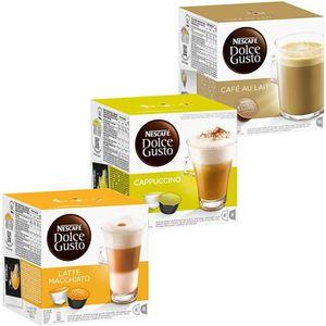CAFÉ CD-825Nescafé Dolce Gusto Crème Set: café au lait