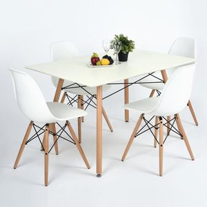 TABLE À MANGER SEULE Table à MTable à Manger Rectangulaire de 4 à 6 Per