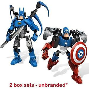 ESPION  2 boites ensembles - super heros capitaine usa &