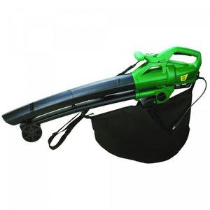 ASPIRATEUR - SOUFFLEUR Aspirateur souffleur de feuilles 2500W + Sac GREEN
