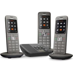 Téléphone fixe Gigaset CL660A Trio - Téléphone fixe sans fil - Ré