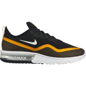 low priced 5ac62 09433 CHAUSSURES DE FOOTBALL NIKE AIR MAX NEWS SEQUENT 4.5 NOIR JAUNE 2019 jord