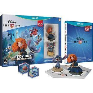 JEU WII U Toy box 2.0 combo starter pack disney infinity imp