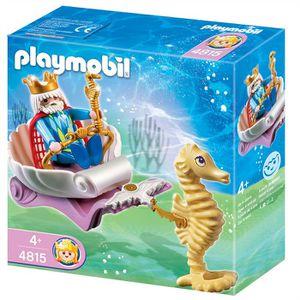UNIVERS MINIATURE Playmobil Roi des mers avec calèche