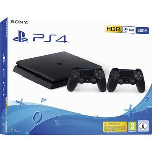 CONSOLE PS4  Playstation 4 (PS4) - Console 500 Go + 2 commande