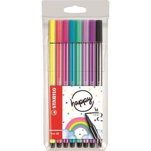 FEUTRES STABILO 8 feutres de dessin Pen 68 Living colors -