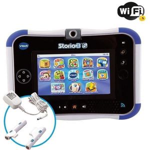 TABLETTE ENFANT STORIO 3S Bleue - Tablette Enfant WiFi Vtech + Pow