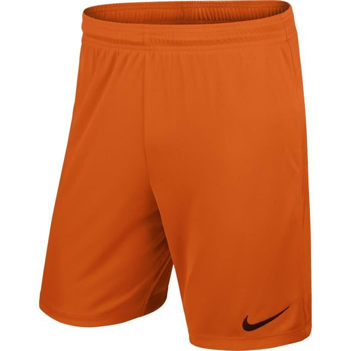 NIKE Short Unisexe Park II Knit - Orange