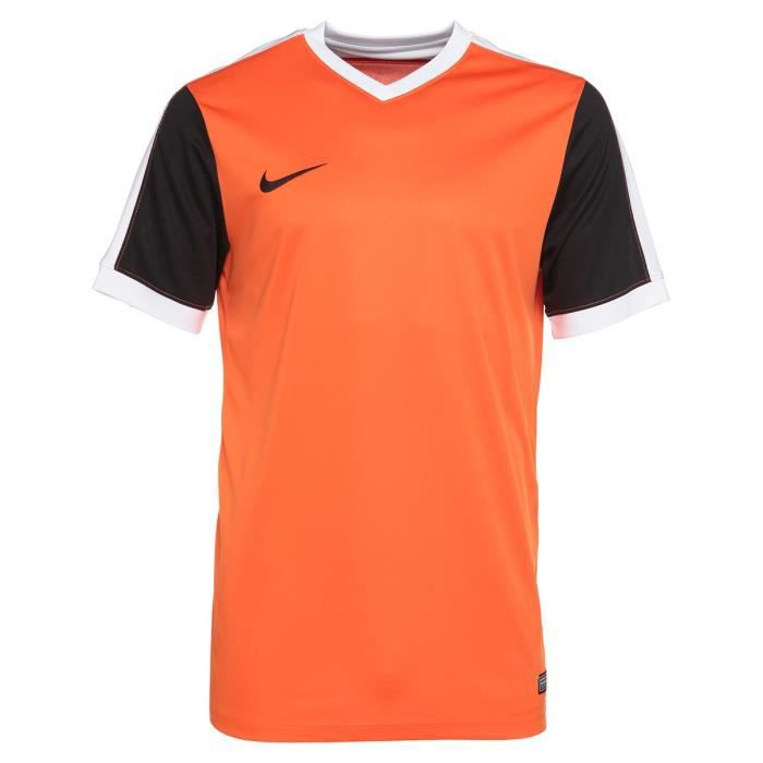NIKE Maillot de Football Homme Striker IV - Orange et noir