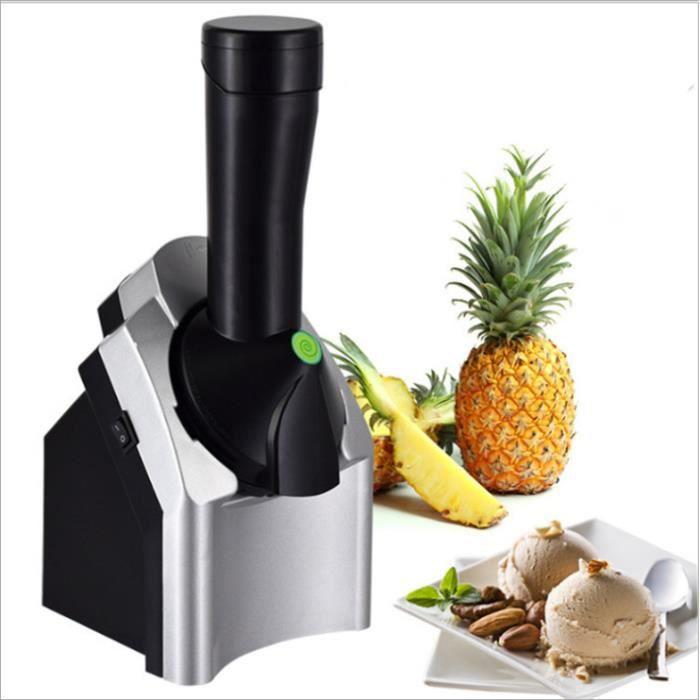 Machine à crème glacée ménage électrique machine à crème glacée aux fruits enfants crème glacée faisant la machine